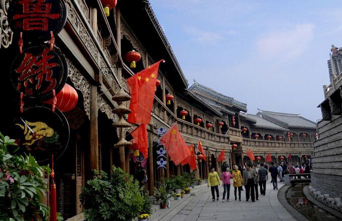 上海到台儿庄古城自驾游