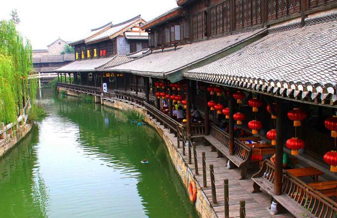 济南游台儿庄运河湿地景区