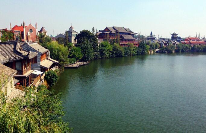 青岛游台儿庄运河古城景区