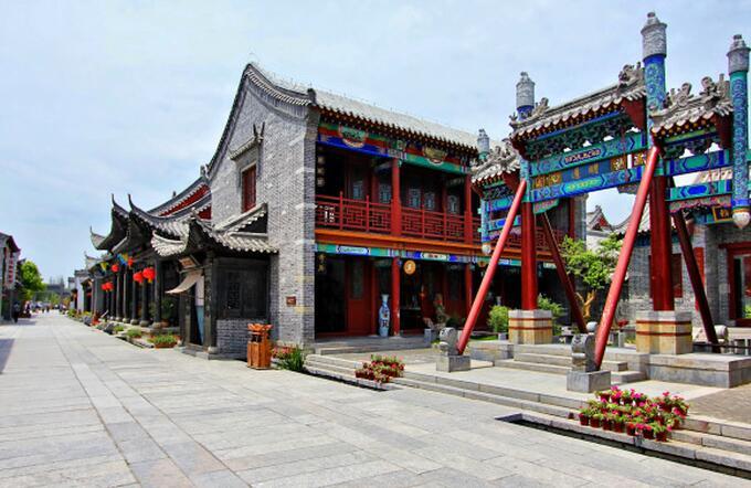 青岛到台儿庄旅游枣庄西站到台儿庄古城怎么走 台儿庄古城攻略