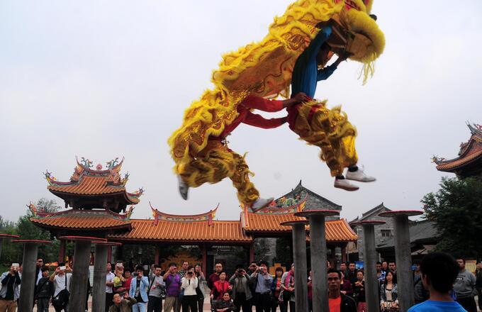 北京游台儿庄古城简介