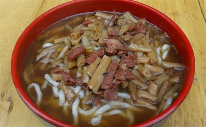 台儿庄古城美食攻略:五个经典的台儿庄美食黄花牛肉面