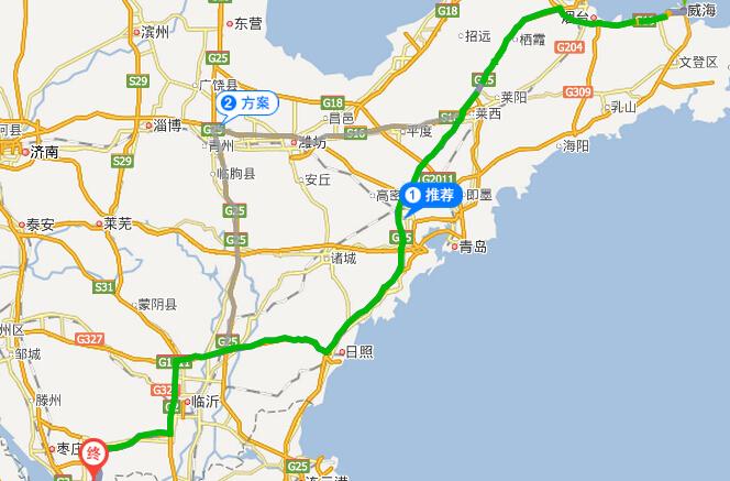 台儿庄自助游攻略 > 正文   朝济南/潍坊/g15方向,靠左,朝济南/青岛