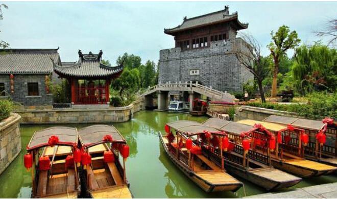 南京到台儿庄自由行攻略,南京到台儿庄古城自由行-台儿庄景色